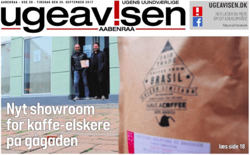 Have A Coffee i Aabenraa ugeavis 2017