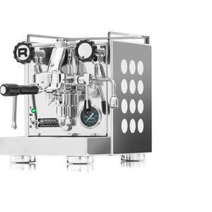 ROCKET Appartamento Espressomaskine - Hvide Dots - inkl. 2 KG Specialty Espresso