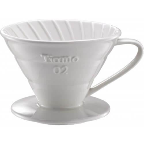 Tiamo Coffee Dripper i Hvid