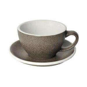 Loveramics Egg - Cafe Latte 300 ml Kop og underkop granitgrå