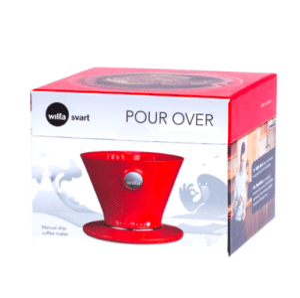 Wilfa Pour Over Rød - WSPO-R - Rød kaffetragt