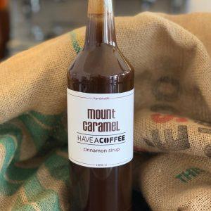 Mount Caramel - Kaffesirup med kanel 1 Liter