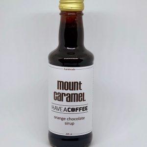 Mount Caramel - Kaffesirup med Orange Chokolade