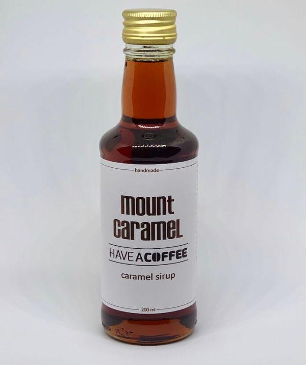 Mount Caramel - Kaffesirup Karamel