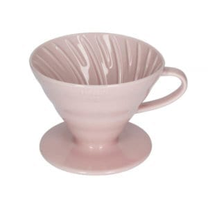 Hario V60-02 Ceramic Coffee Dripper Pink 2