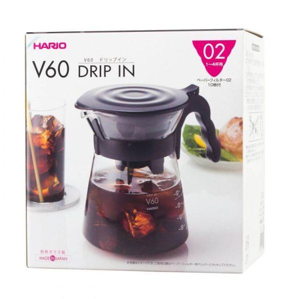 Hario V60-02 Drip-In Server 700ml til Icecoffee og pour-over