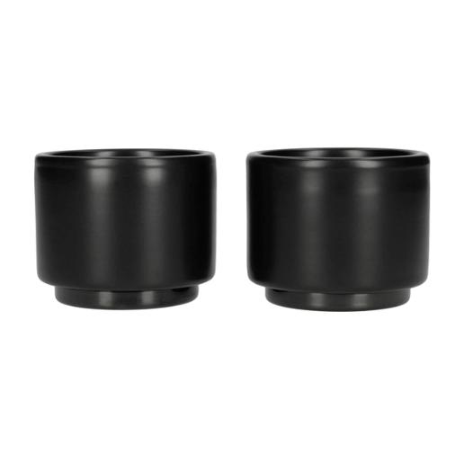 Fellow Monty Espresso Kop - Sort - 90 ml - Sæt m/2. stk.