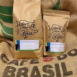 Signature Espresso #3 DARK ROAST – Specialty Espresso Bønner – Brasilien