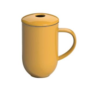 Loveramics Pro Tea Gul - TeKrus med infuser og låg