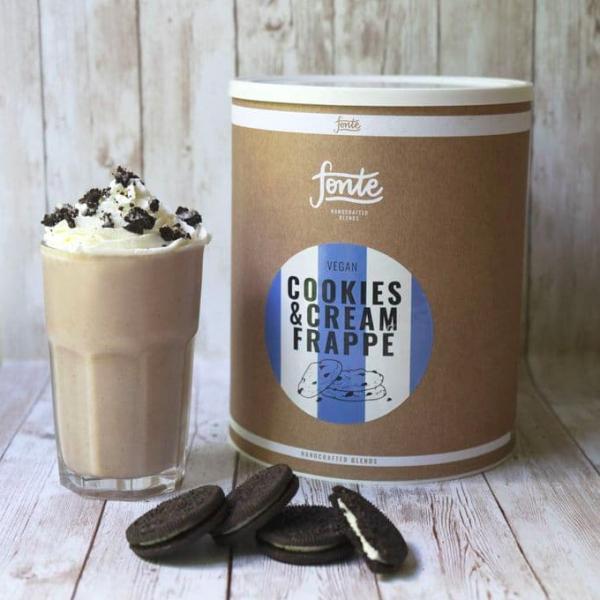 Fonte Cookie & Cream Frappé 2 KG - Vegan