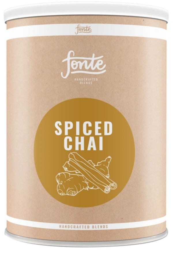 Fonte Spiced Chai 2 KG - Vegan