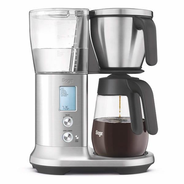 SAGE The Precision Brewer kaffemaskine - Glaskande SDC400BSS - INKL. 1 KG Filterkaffe