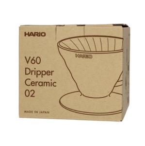 Hario V60-02 Keramisk Coffee Dripper Grå