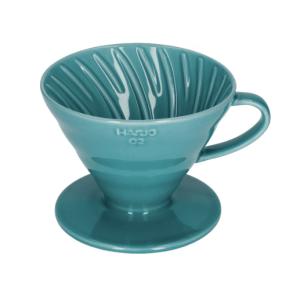 Hario V60-02 Keramisk Coffee Dripper Turkis