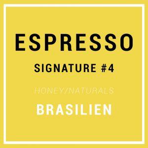 Signature Espresso #4 - Specialty Espresso Bønner - Brasilien