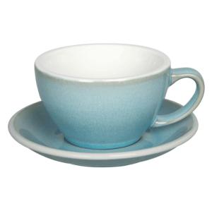 Loveramics Egg - Cafe Latte 300 ml Kop og underkop Ice Blue