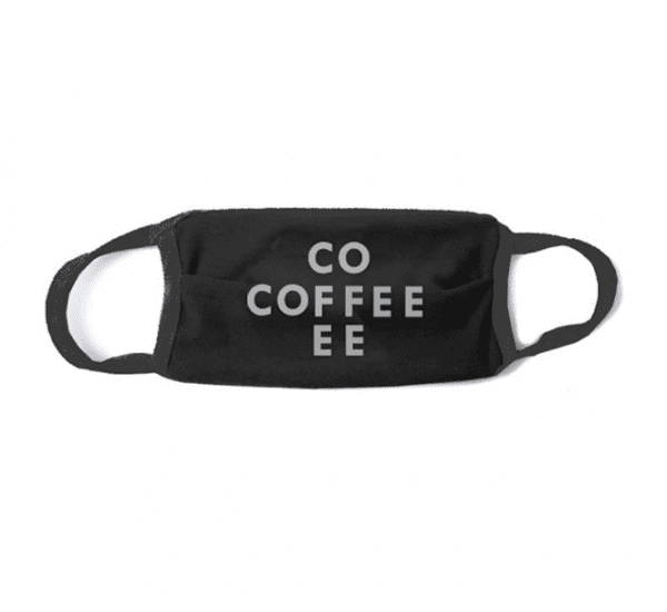 Department of Brewology Ansigtsmaske - Kaffemaske