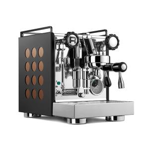 ROCKET Appartamento Espressomaskine - Sort m/Hvide ell. Kobber Dots - Inkl. 2 KG Specialty Espresso