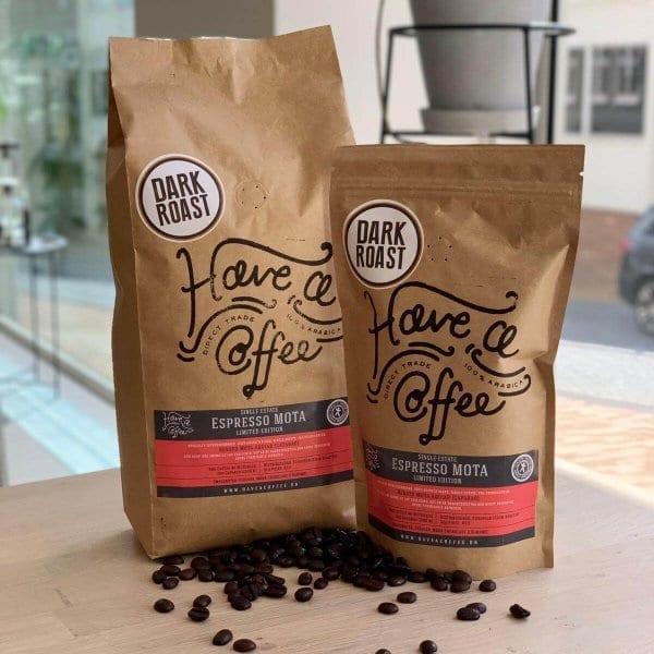 Espresso MOTA - Dark Roast - Limited Edition - Brasilien