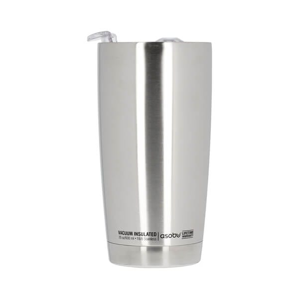 Asobu - The Gladiator Silver - 600 ml Tumbler To Go Kop