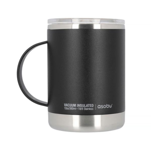 Asobu - Ultimate Coffee Mug Sort - Termoisoleret 360 ml