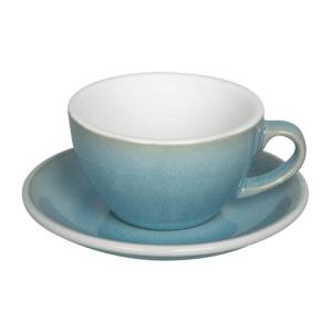 Loveramics Egg - Cappuccino 200 ml Kop og underkop Ice Blue