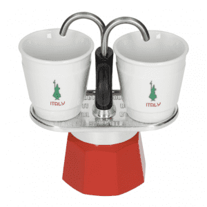 Bialetti Mini Express 2 kops Italy Edition + 2 kopper