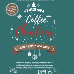 Kaffe Julekalender - 24 dages Specialty Kaffekalender