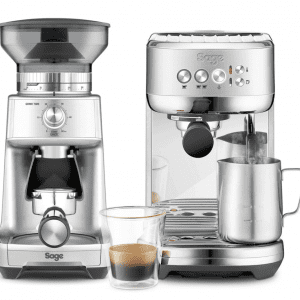 Sage The Bambino Plus Espressomaskine SES500BSS inkl. kaffekværn Sage Dose Control BCG600