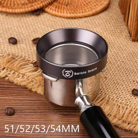 Barista Space Funnel/doserings-tragt 51/52/53/54 mm med 10 x magneter