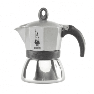 Bialetti Moka Induction Antracit Grå - 3 koppers Espressokande