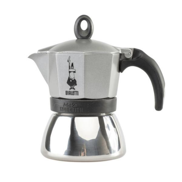 Bialetti Moka Induction Antracit Grå - 3 koppers Espressokande