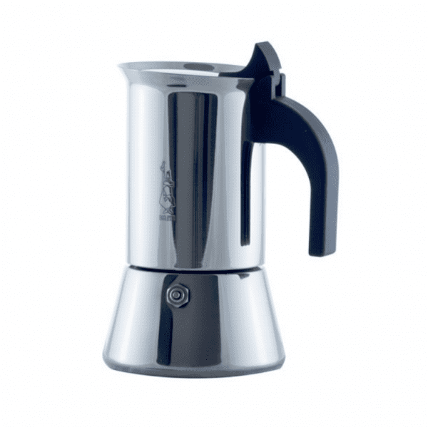Bialetti Venus 4 koppers Moka Espressokande - Egnet til induktion
