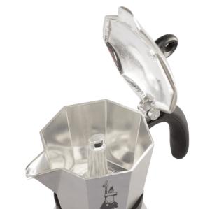 Bialetti Moka Induction Antracit Grå - 6 koppers Espressokande