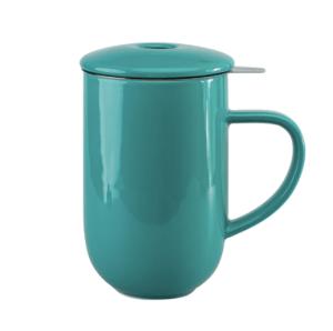Loveramics Pro Tea Blå-Grøn - TeKrus med infuser og låg