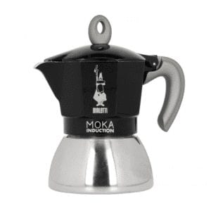 Bialetti NY Moka Induktion - 4 Koppers - Sort