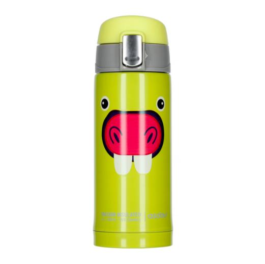 Asobu - Peek-a-Boo Lys Grøn - 200 ml To-Go Rejse Flaske