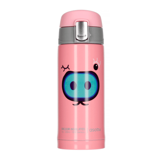 Asobu - Peek-a-Boo Pink - 200 ml To-Go Rejse Flaske