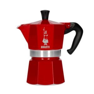 Bialetti Moka Express Espressokande - Marocco Rød 3 kopper - Special Edition