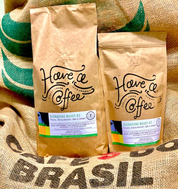 Signature Roast #3 - Specialty kaffe - Brasilien