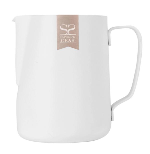 Espresso Gear - Mælkekande Non-Stick Hvid - 600 ml