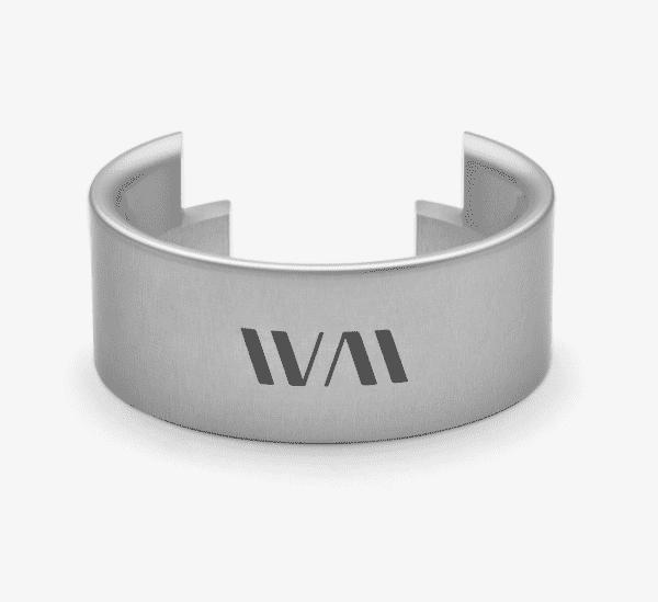 Wiedemann Precision Funnel / Tragt til Eureka Mignon - 58 mm Håndlavet - Sølv