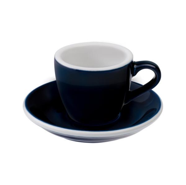 Loveramics Egg - Espresso 80 ml Kop og underkop Denim