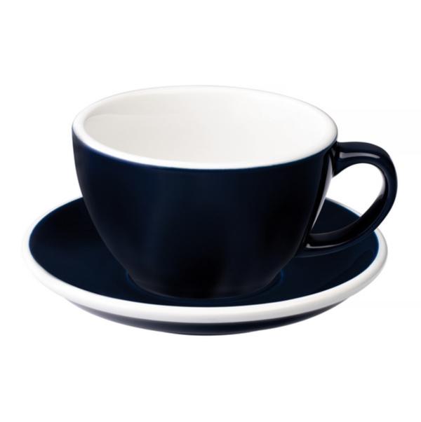 Loveramics Egg - Cafe Latte 300 ml Kop og underkop Denim