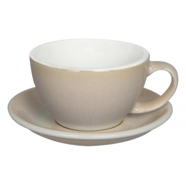 Loveramics Egg - Cafe Latte 300 ml Kop og underkop Ivory