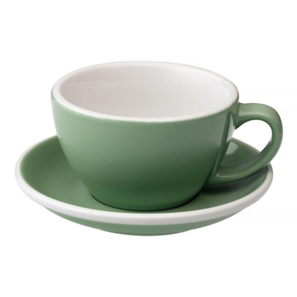 Loveramics Egg - Cafe Latte 300 ml Kop og underkop Mint
