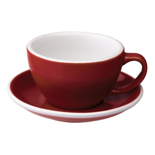 Loveramics Egg - Cafe Latte 300 ml Kop og underkop Red
