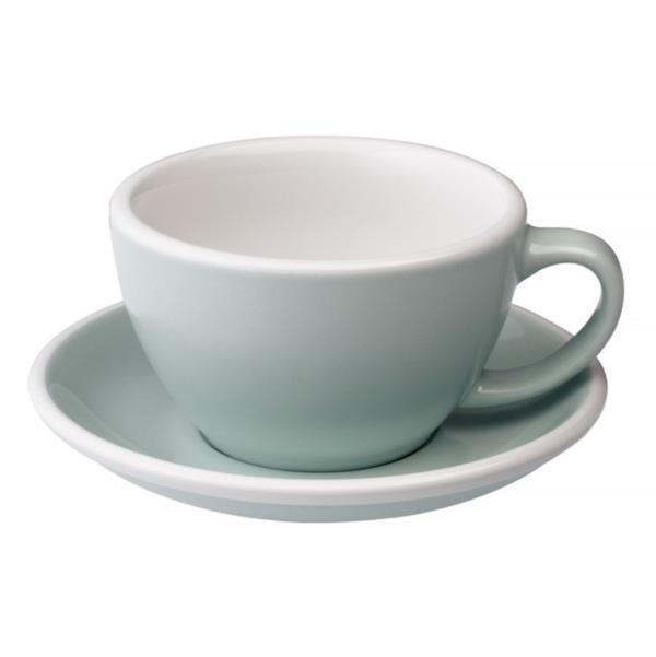 Loveramics Egg - Cafe Latte 300 ml Kop og underkop River Blue