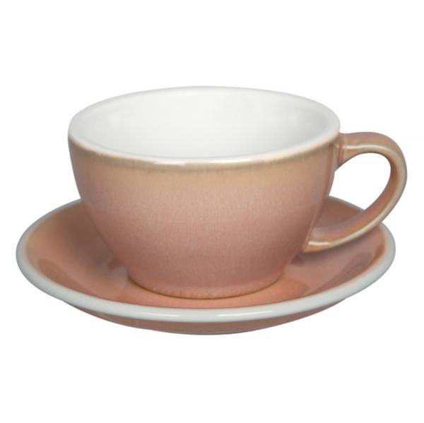 Loveramics Egg - Cafe Latte 300 ml Kop og underkop Rose