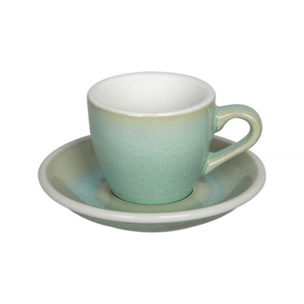 Loveramics Egg - Espresso 80 ml Kop og underkop Basil
